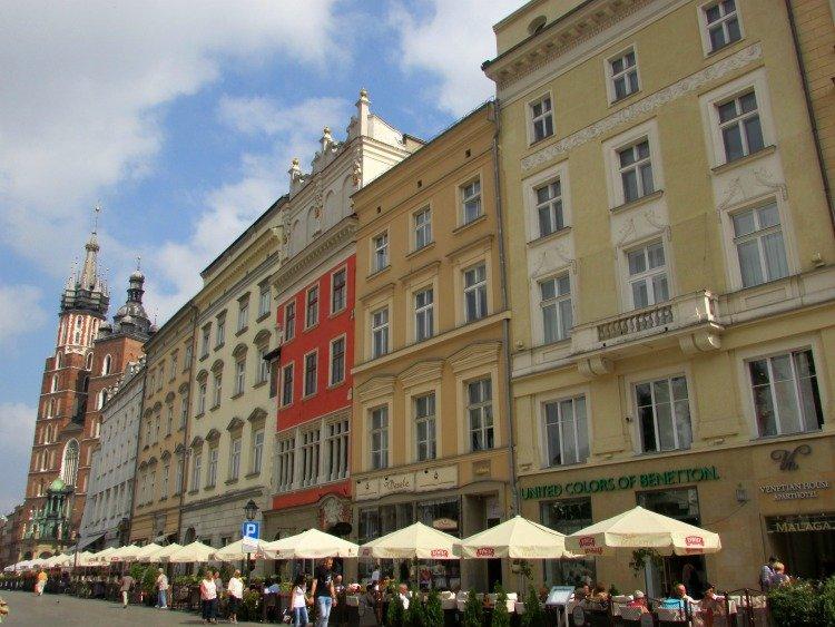 Krakow Sightseeing, St. Mary's Basilica, Main Square