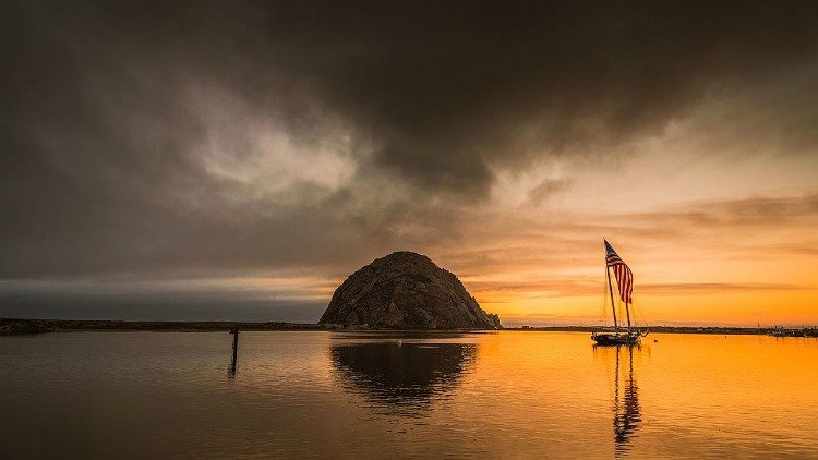 Morro Bay Sunset, Sunset Morro Bay