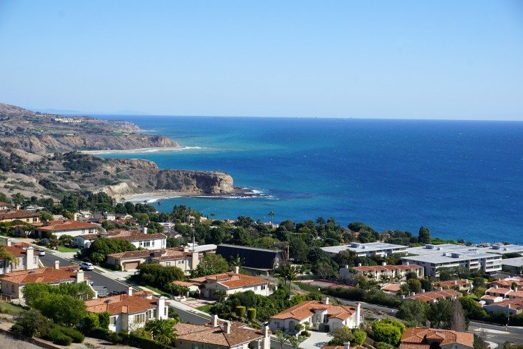 View in Palos Verdes Peninsula