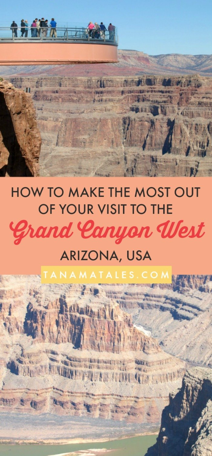 What to do at the Grand Canyon West, #Arizona, #US - Travel tips and ideas - For those in search of beauty, adventure and the closest option from #LasVegas, the Grand Canyon West is a wonderful option! This part of the canyon provides access the Skywalk, Eagle Point, Guano Point, the Hualapai Ranch, cultural attractions and much more. My guide will give you info on everything you need to know!