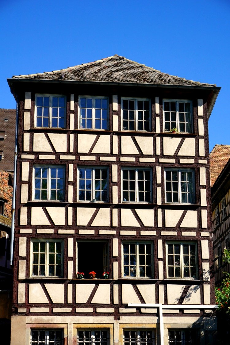 Petite France Strasbourg, Half-Timbered Houses