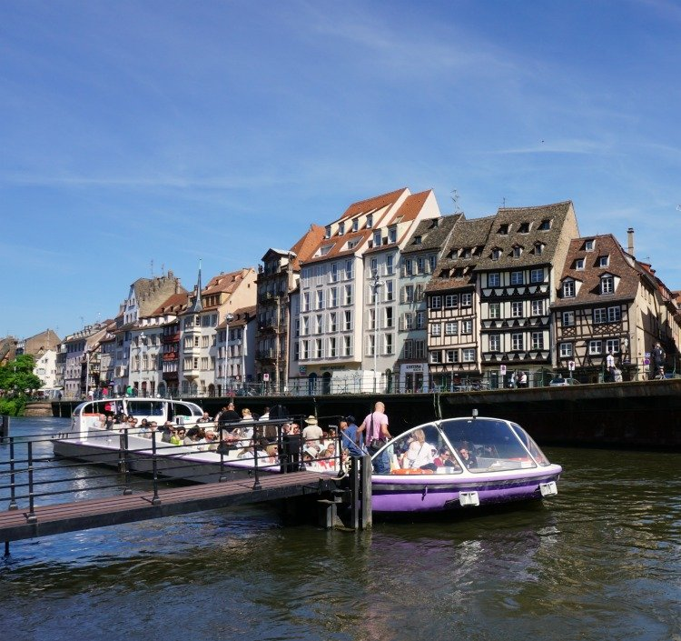 Boat Ride, Strasbourg