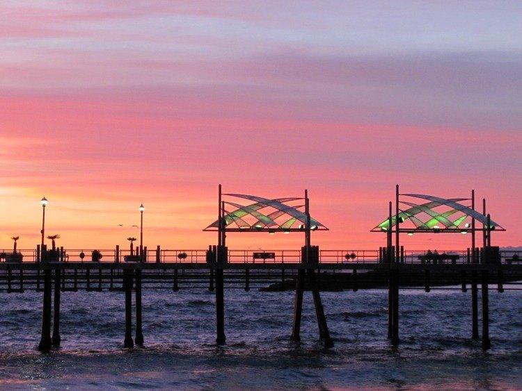 Redondo Beach Pier, Sunset