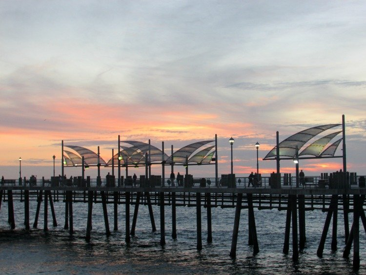 Redondo Beach Pier, Sunset