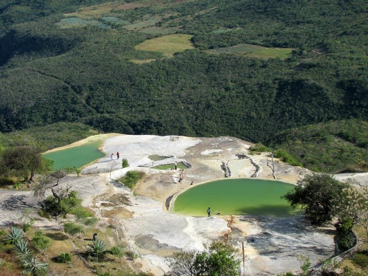 Hierve el Agua, Mexico facts and information