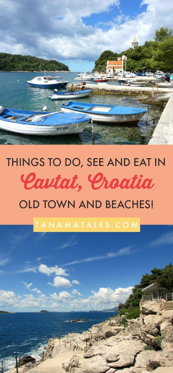 Things to do in #Cavtat, #Croatia – Travel tips and ideas – If you are looking for an inexpensive day trip from #Dubrovnik, Cavtat is the place for you. This resort town located 10 miles south of Dubrovnik has a beautiful Old Town, beaches, trails and nearby islands. It is ideal for those who want to spend a quiet day by the sea.