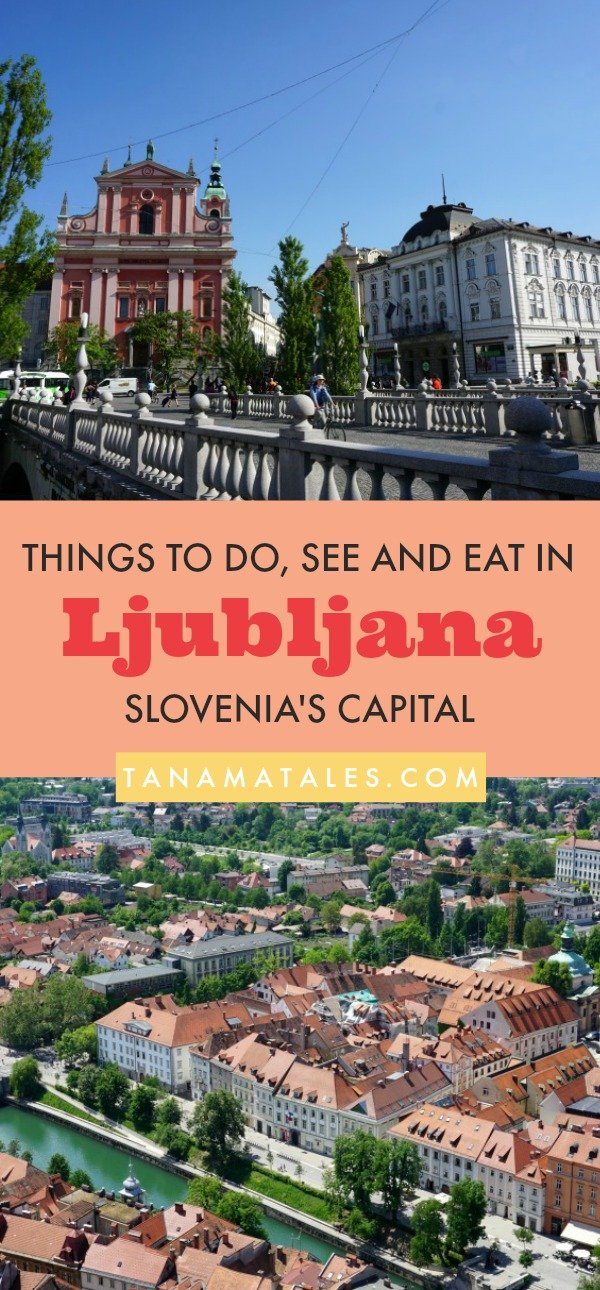 Things to do in #Ljubljana, #Slovenia – Travel tips and ideas - If you enjoy vibrant, colorful, clean, non-crowded and relaxed places, then I recommend you visit Ljubljana. The vibe in the city makes you feel happy. It is not difficult to sit down at a riverside café, converse and laugh. My guide will help you to decide what to do, see and eat in the city. The article covers everything from the Dragon Bridge to the Castle and from Preseren Square to interesting spots in Old Town.