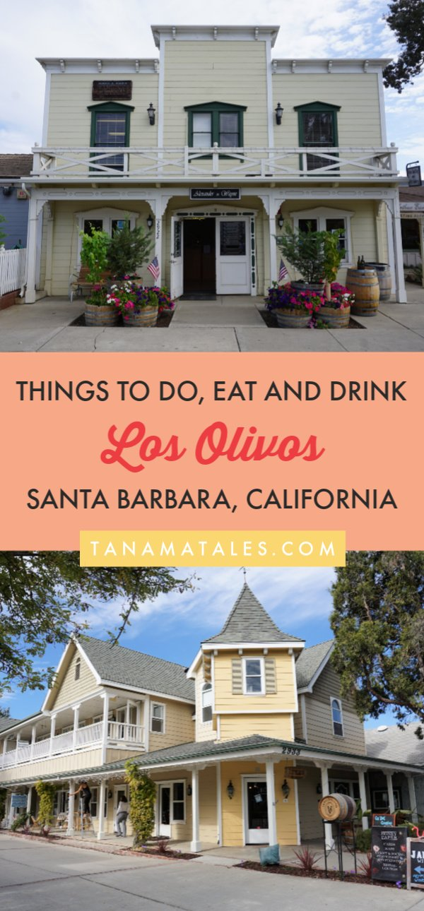 Things to do in Santa Barbara County - Los Olivos, a tiny town on the Santa Ynez Valley, is a must visit for those who are searching for a beautiful country escape. Its wine tasting rooms, restaurants, shops, gardens and charming architecture will delight visitors. #SantaBarbara #California #SantaYnezValley #Solvang