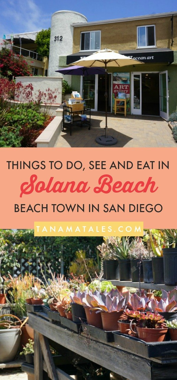 Things to do in San Diego – Travel tips and ideas – #SolanaBeach, a city located in 22 miles of Downtown #SanDiego, is known for its beaches, great dining, nightlife and hiking opportunities.  Above all, it is known because of its stupendous Cedros Design District, a premier shopping district with over 85 merchants offering experiences in the design, art and epicurean realms. My guide will give you plenty of ideas on what to do in the city. #California #Beach #food #photography #restaurants