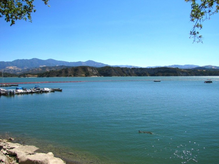 Cachuma Lake in Santa Barbara County