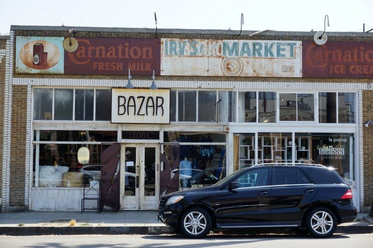 Bazar at Abbot Kinney Blvd, Venice Beach, Los Angeles