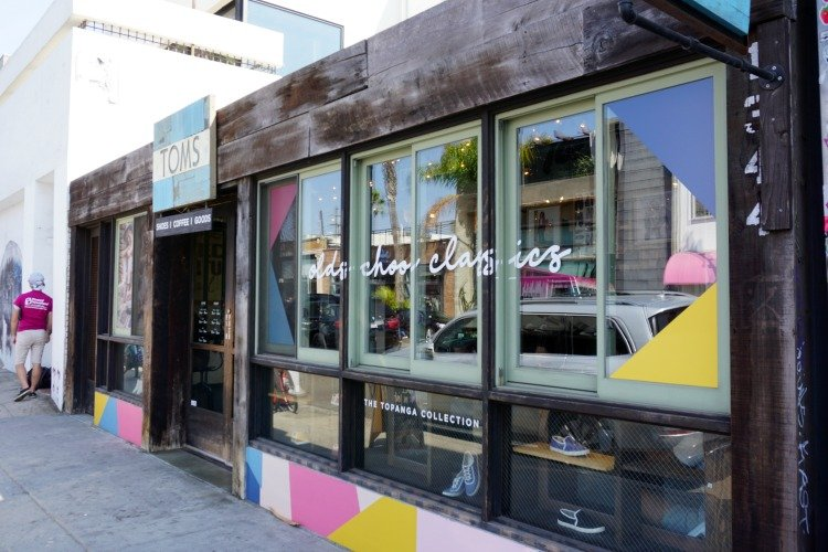 TOMS Flagship Store at Abbot Kinney Blvd, Venice Beach, Los Angeles