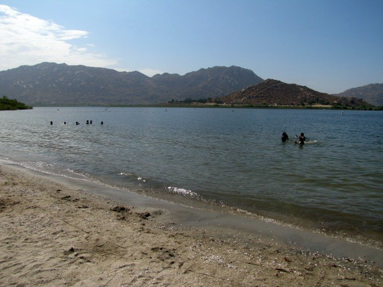 Lake Perris located in Riverside County, California