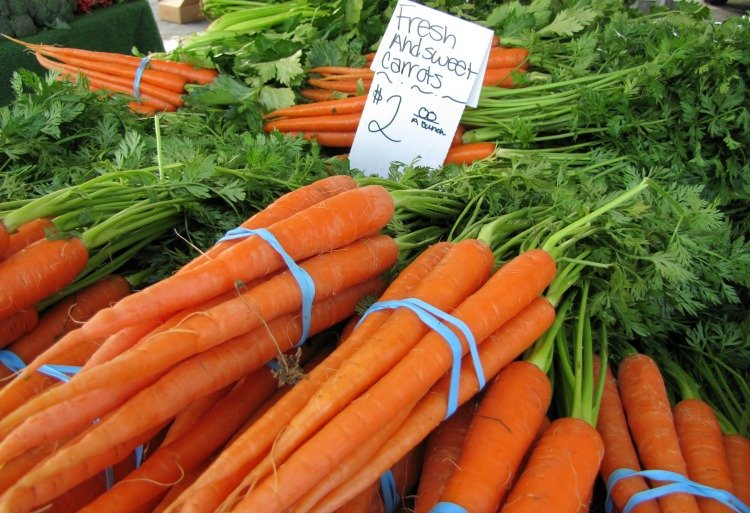 Carrots at Torrance Farmers Market , Things to do in Torrance