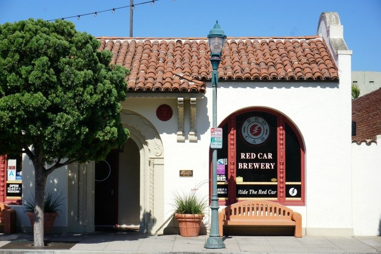 Red Car Restaurant & Brewery in Old town Torrance
