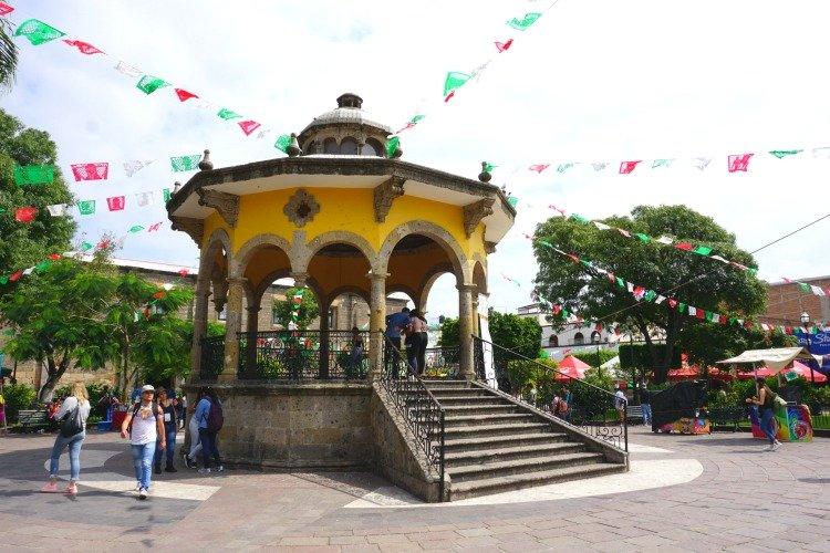 Gazebo on Jardin Hidalgo, Tlaquepaque, Jalisco