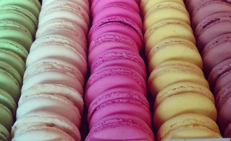 Macarons from The Manhattan Beach Creamery, Downtown Manhattan Beach, California