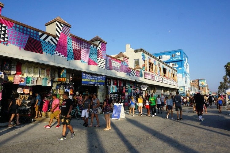 Things to do in Venice Beach, California, Venice Beach's Boardwalk