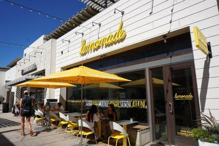 Lemonade in Downtown Manhattan Beach, California