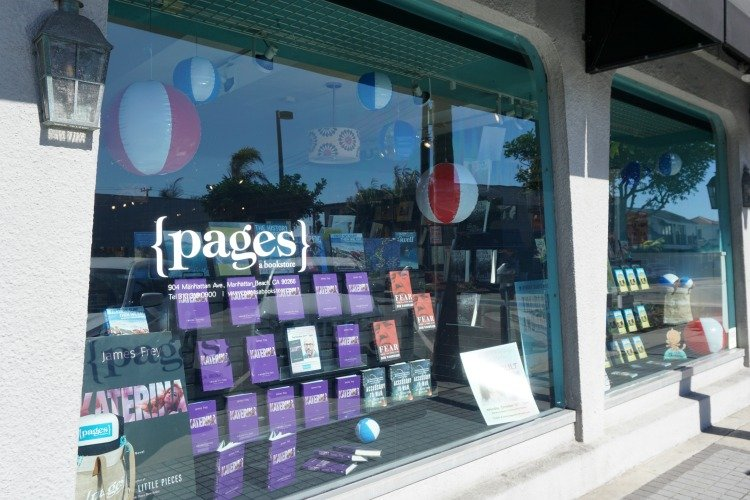 Pages bookstore in Downtown Manhattan Beach, Things to do in Manhattan Beach