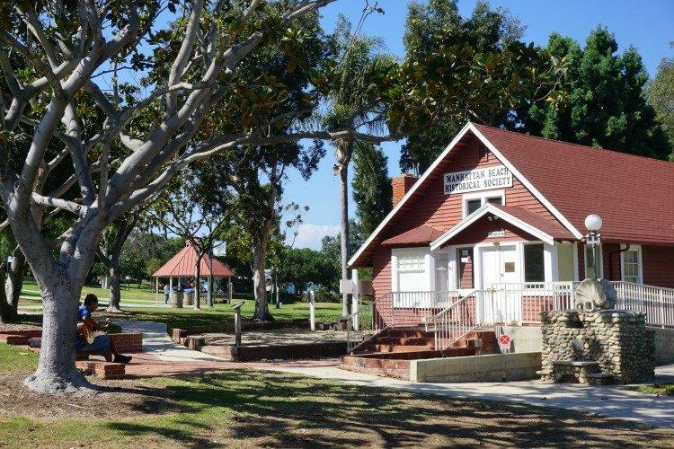 Manhattan Beach Historical Society at Polliwog Park, California