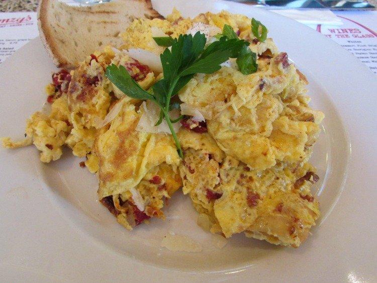 Breakfast at Simmzy's, Manhattan Beach, California