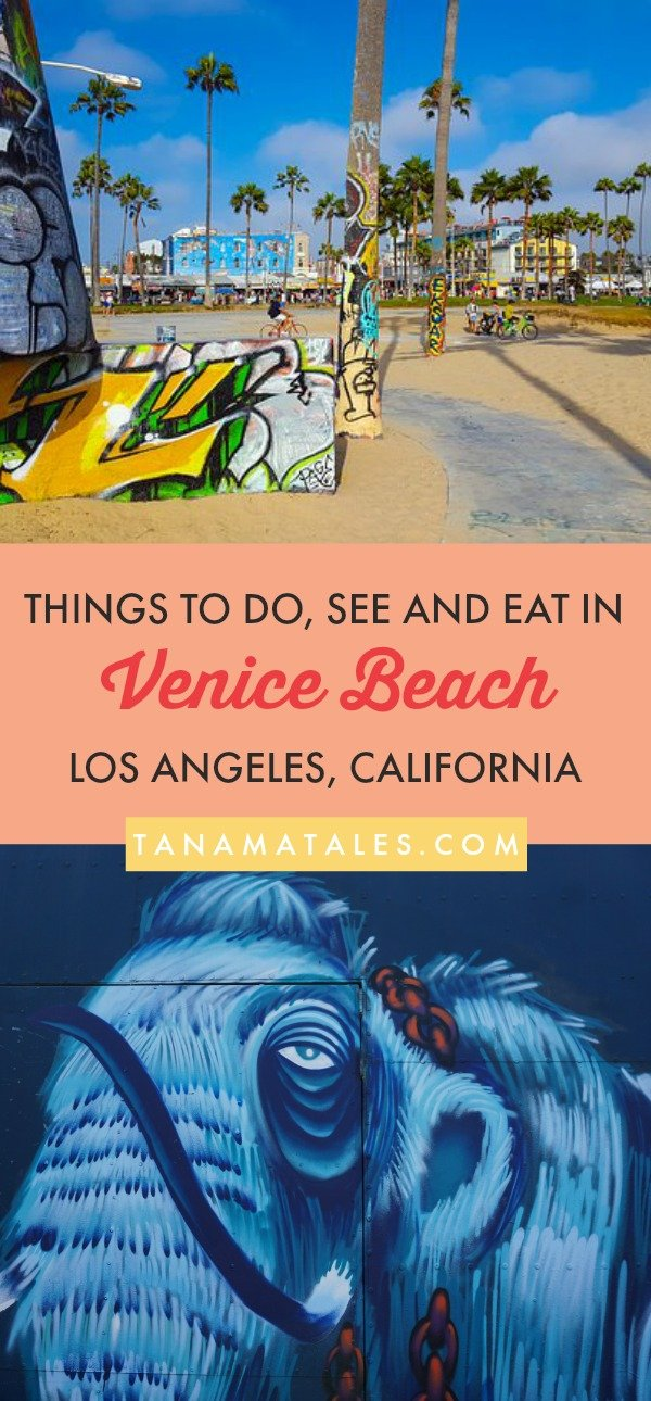 Things to do in Venice Beach, #California – Travel tips and ideas - As a long-time area resident, I am giving you my best recommendations on things to do in Venice Beach. Get ready to discover a free-spirited boardwalk, hip Abbot Kinney Boulevard, tons of public art, charming canals, trendy restaurants and wonderful food! #LosAngeles #LA