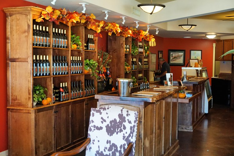 Dascomb Cellars tasting room located in Downtown Solvang, Santa Barbara, California