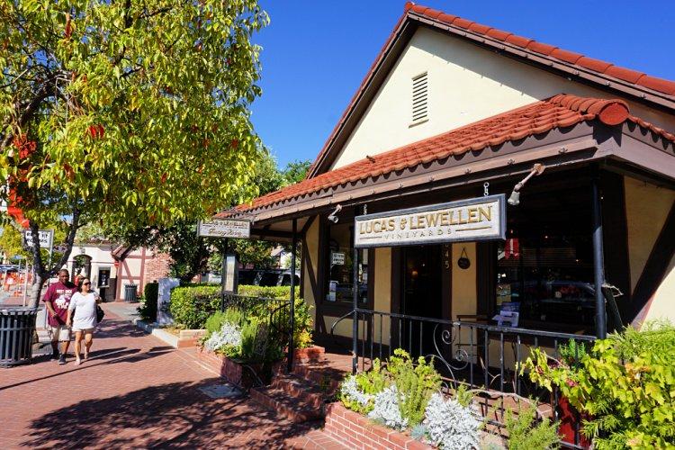 Lucas & Lewellen tasting room located in Solvang, California, Solvang Wineries