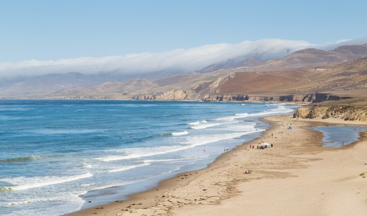 Jalama Beach in Lompoc, California
