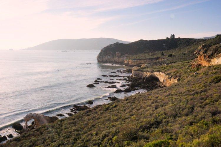Avila Sea Caves view, Avila Beach, California, Things to do in Pismo Beach