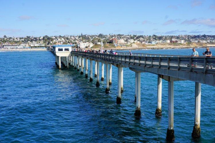 Ocean Beach Pier, San Diego