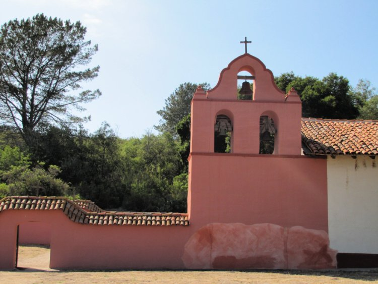 La Purisima Mision in Lompoc, California