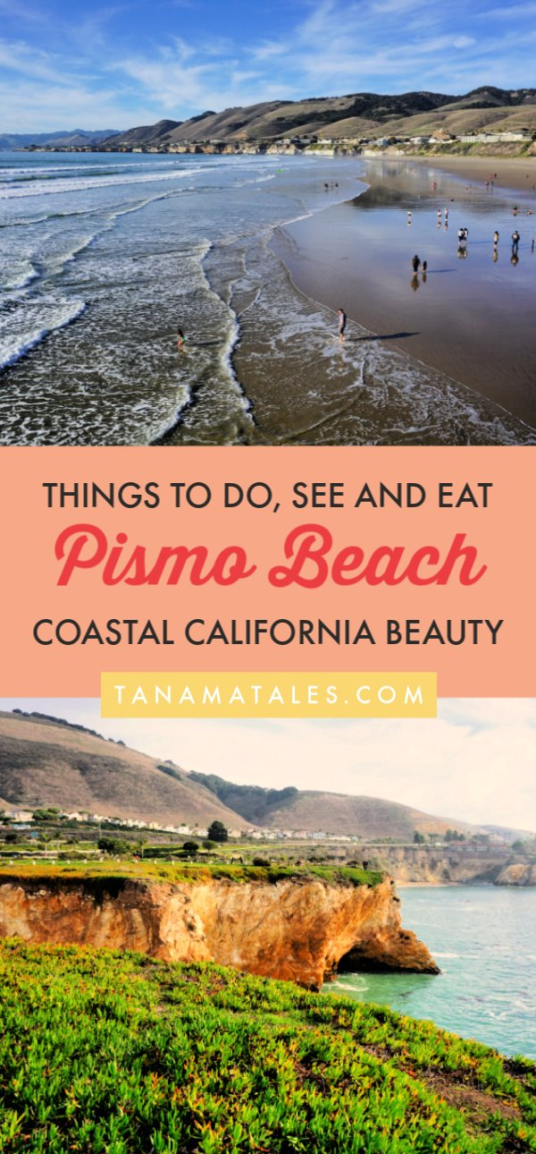 Things to do in Pismo Beach, #California – Pismo Beach, a small coastal town in San Luis Obispo County is known for its pier, clam chowder, san dunes, camping, sea caves, monarch butterfly grove and hiking.  Get ready because I am spilling the beans on the best things to do in Pismo Beach.  Plus, I have tons of restaurants recommendations.  #roadtrip #beachtown #PCH #CentralCoast