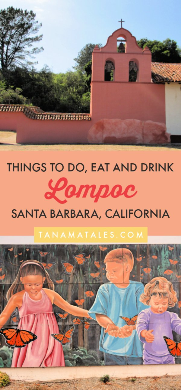 Things to do in the Santa Ynez Valley, #SantaBarbara – Travel tips and ideas - Lompoc is a town known for wine, murals and flower fields. In addition, it has beaches, parks and an aquatic center. If you are considering places to stay in or near the #California Coast, let me show you the best things to do in #Lompoc!