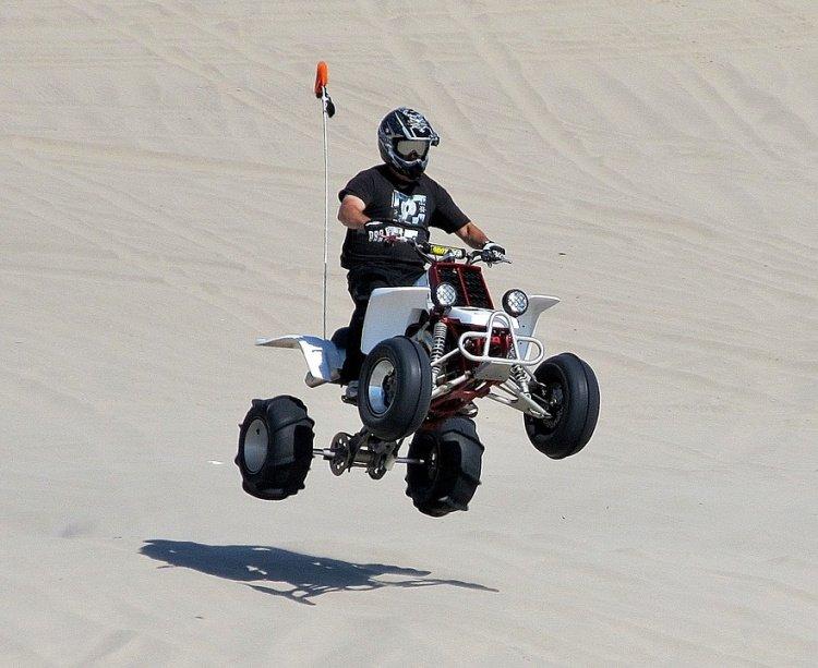 ATV at Pismo Beach Dunes, California, What to do in Pismo Beach