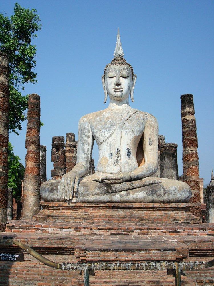 Statue at Sukhothai Historical Park