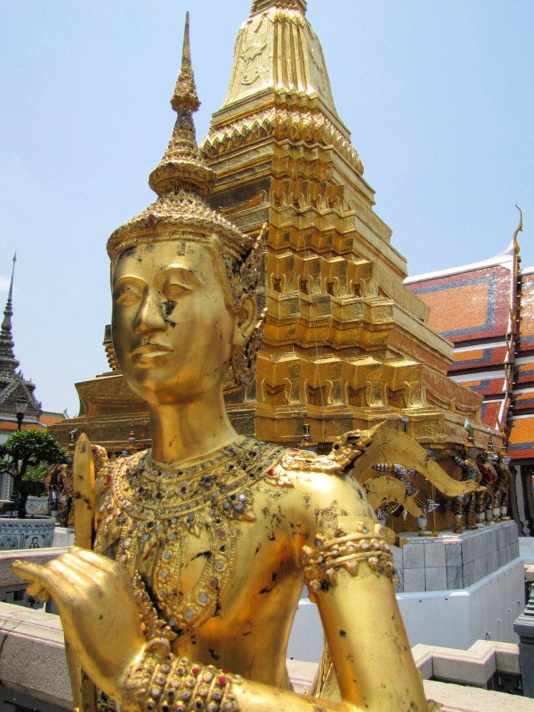 Imaginary being statue at Grand Palace, Bangkok, Thailand