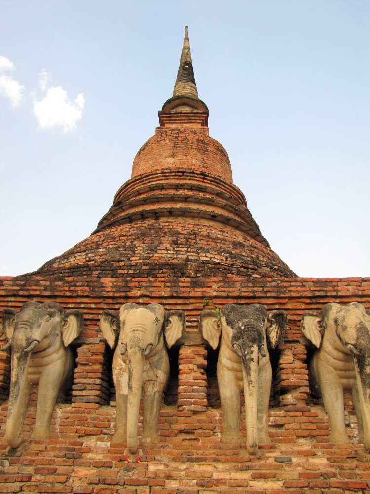 Wat Chaiang Man, Chiang Mai, Thailand