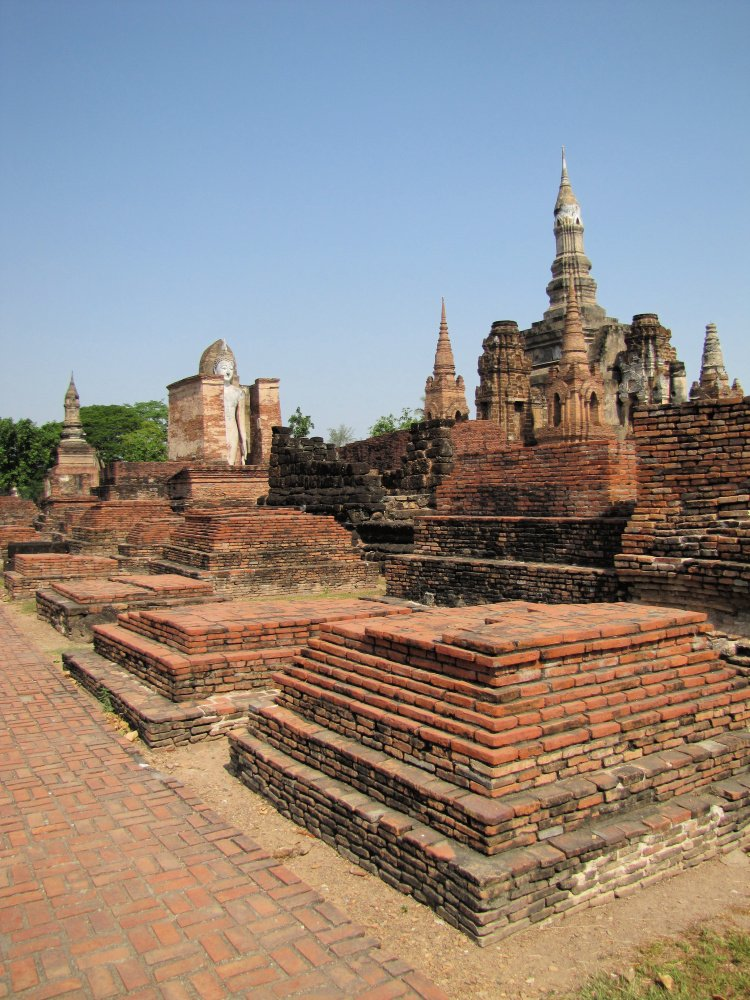 Structures at Sukhothai Historical Park