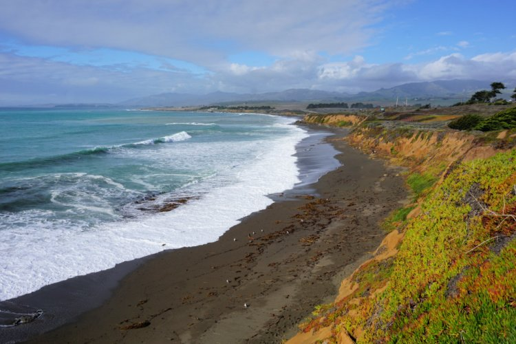 View from Leffingwell Landing, Cambria, California