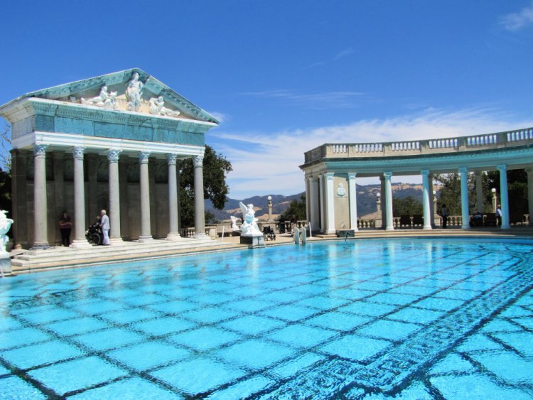 Neptune Pool at Hearst Castle, San Simeon, California