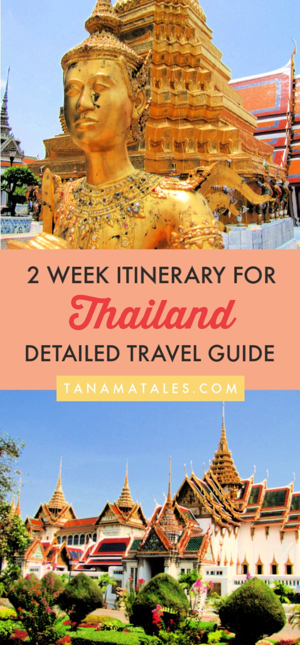 My Ultimate Guide to 2 Weeks in Thailand has detailed itinerary covering #Bangkok, Chiang Mai, Chiang Rai, Sukhothai and Ayutthaya. I am giving you tons of ideas in terms of attraction, tours, markets and even short excursions to adjacent countries. In addition, have alternate itineraries covering Phuket and Krabi. This is all you need to start planning your #Thailand #adventure!