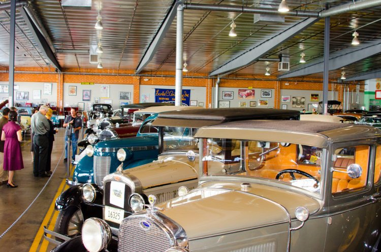 Automobile Driving Museum, El Segundo, California