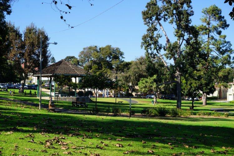 Library Park in El Segundo, California