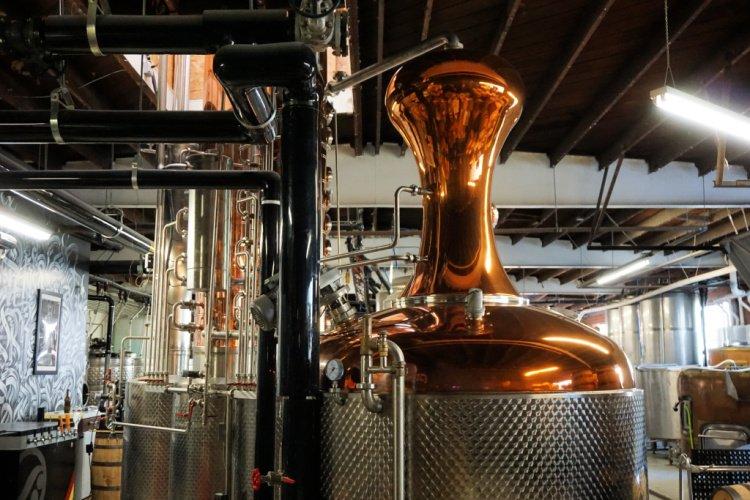 R6 Distillery in El Segundo, California