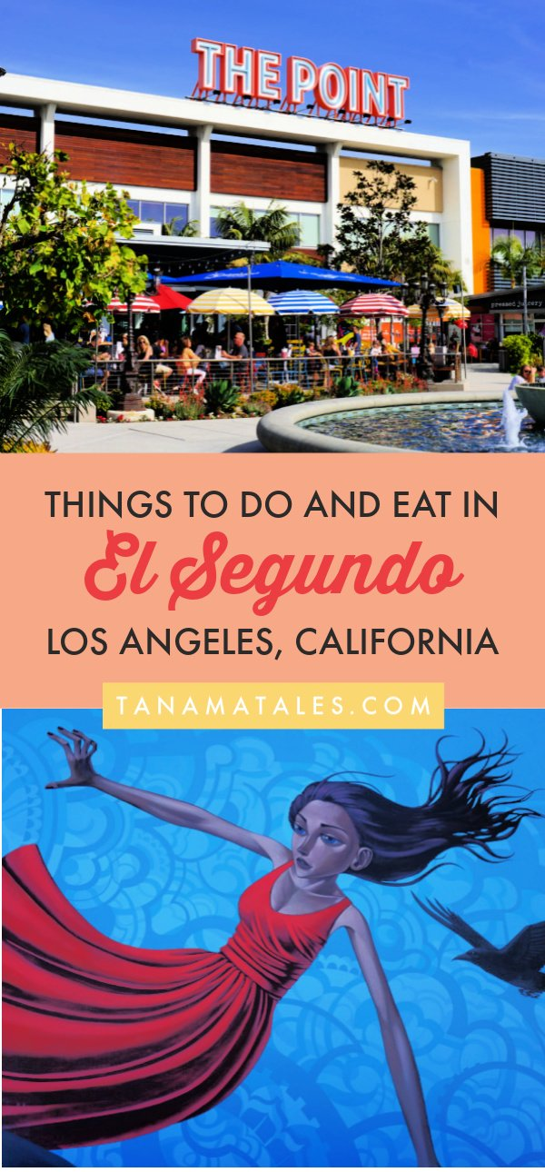 Things to do in El Segundo and South Bay, #California – Travel tips and ideas - There is a lot to do in El Segundo, one of the beach cities of #LosAngeles County.  Yes, there are tons of restaurants and shopping but I encourage you to visit the Downtown, stroll along the beaches, golf, hand glide and stop b a museum.  Combine your visit with attraction found in Manhattan, Hermosa and Redondo Beach. #LA #beachtown #roadtrip #PCH