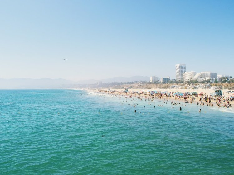 One Day in Los Angeles: Itinerary for First-Time  Visitors, Santa Monica Beach