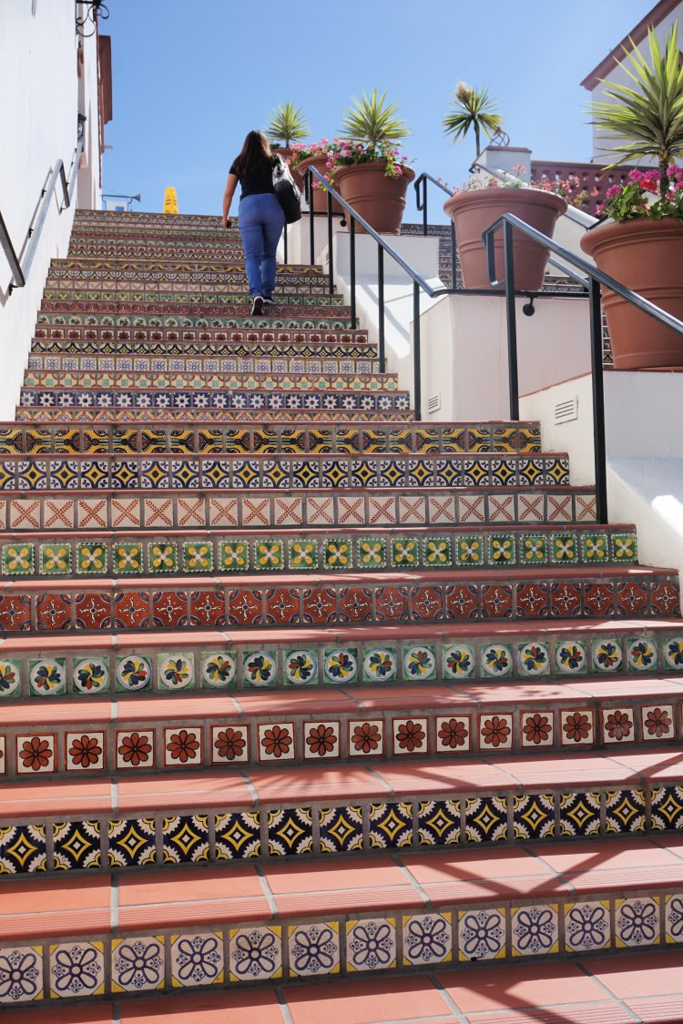Tiled Stairs, Places to Visit in Santa Barbara, California