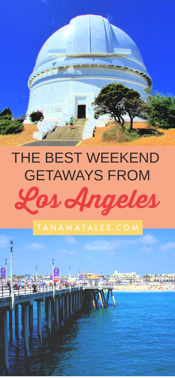 The best weekend getaways from Los Angeles – Travel tips and ideas – Looking what to do this weekend? What about going outside the city and having some fun?  This article will help you to plan your next getaway from Los Angeles.  With so many options, the questions would be, where I should go? #California #LA #roadtrip #SantaBarbara #SanDiego #Ventura #HuntingtonBeach #Julian #BigBear #NewportBeach #Temecula #Anaheim #Disney